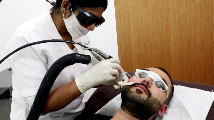 Laser Hair Removal At Marafie Clinic using the latest laser technologies in Bahrain